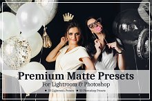 Premium Matte Presets by  in Add-Ons