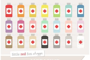 Medicine Bottle Clipart Graphics