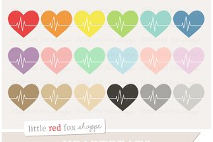 Heartbeat Clipart Graphics