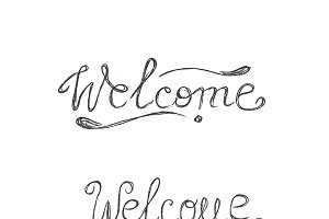 welcome, sketch