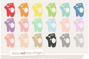 Ballet Shoe Clipart