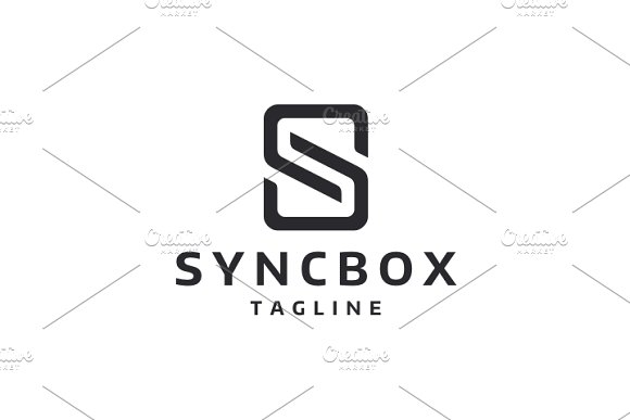 Sync Box in Logo Templates - product preview 3