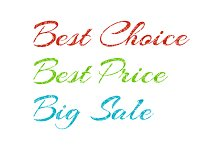 Sale Labels Text Background