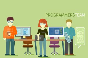 Programmers Team People Group