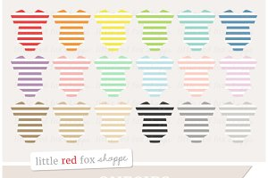 Striped Onesie Clipart