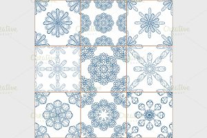 Tiles Floor Ornament Collection