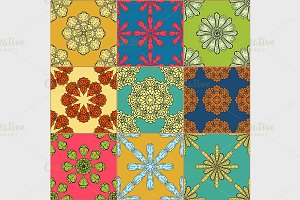 Gorgeous seamless pattern