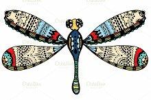 ornate dragonfly