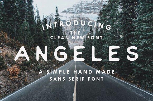 Angeles - Sans Serif Font