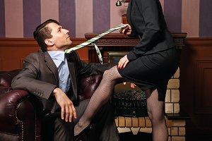 Business woman pressure