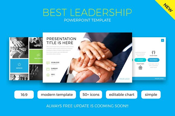 Best Leadership Powerpoint Template Presentation Templates