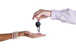 Transfer of ignition keys