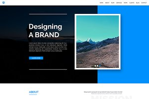 WALK – One Page Responsive Template