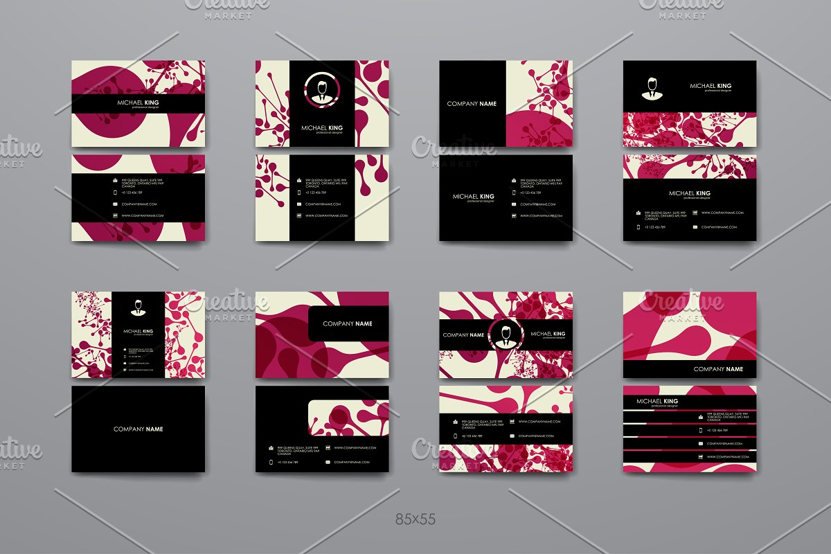 Business Cards Templates in Business Card Templates