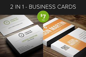 Bundle - Creative Business Cards