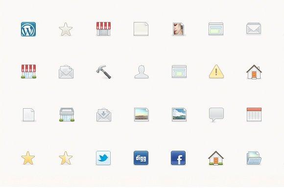 IconJar. 353 Icons + Free Updates - Icons