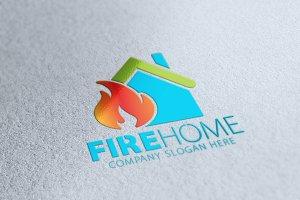 Fire Home Logo
