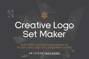 Infografica Creative Logo Set Maker