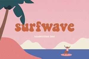 Surfwave | Handwritten font