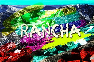 Rancha font