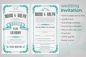Wedding Invitation Classic