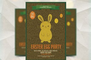Easter Egg Party - Flyer Template