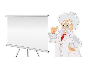 professor, presentation, vector