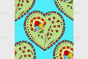 Seamless Pattern Hearts