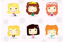 Little Girls Characters