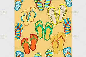 flip-flops background
