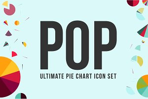 POP: Ultimate Pie Chart Icon Set