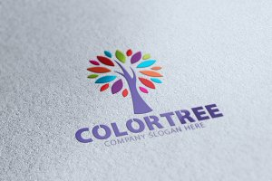 Color Tree V2 Logo