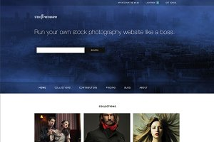 Stock Photography - eCommerce Theme