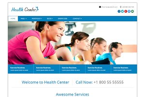 Health Center Responsive Html Theme