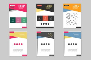 Brochure design template. Vol.1