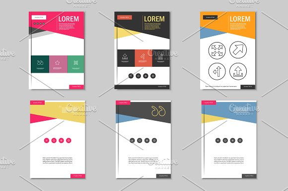 Brochure Design Template Vol Brochure Templates Creative Market - Brochure design template