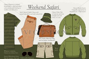 Men Weekend Safari Collection