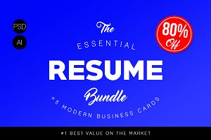 Essential Resume Bundle