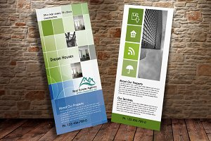 Real Estate Business rack Card