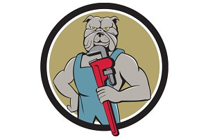 Bulldog Plumber Monkey Wrench