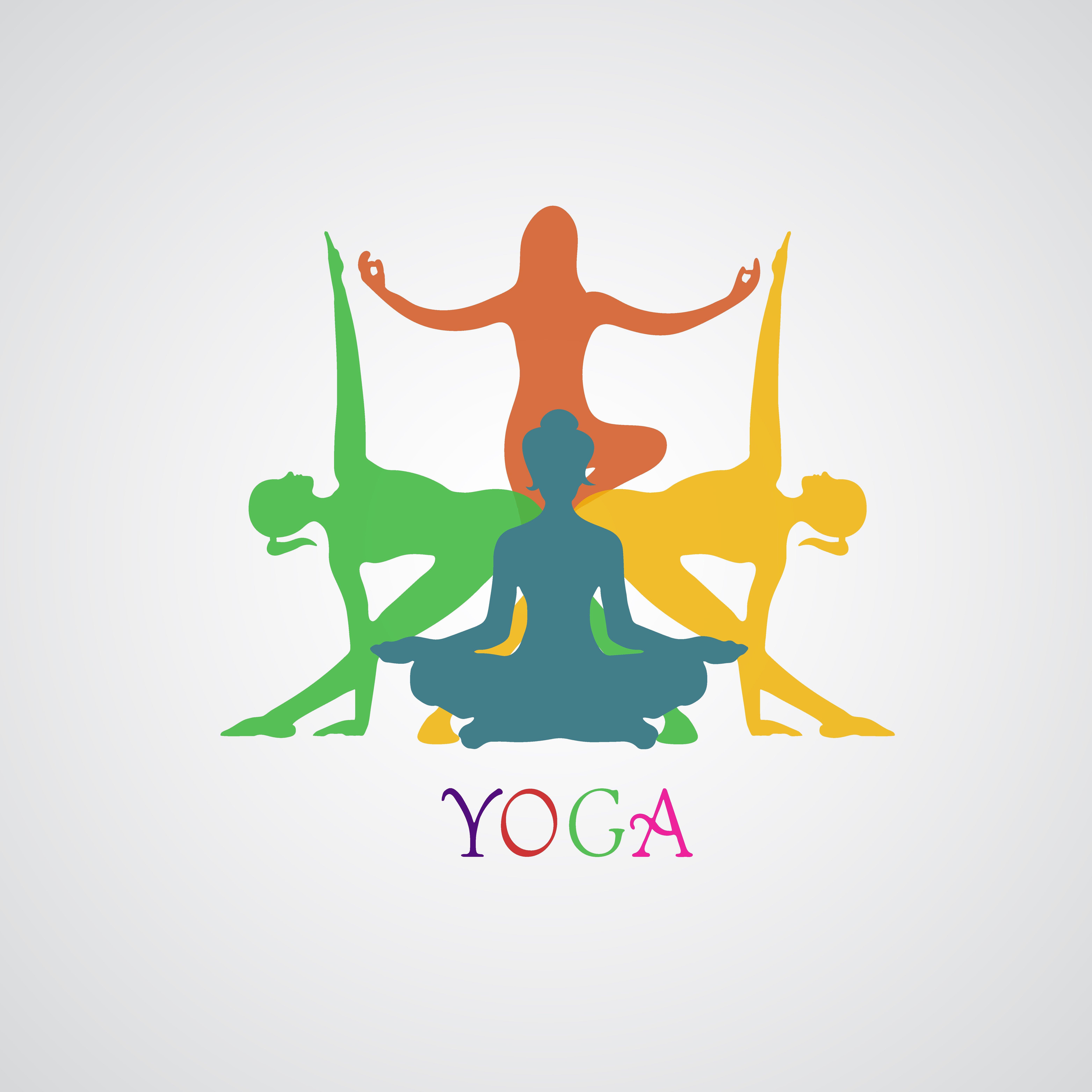 Yoga poses, woman, Pilates ~ Illustrations ~ Creative Market