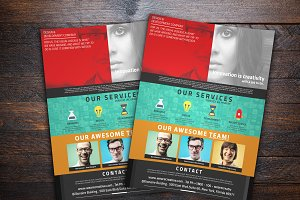 Corporate Flyer Series 1