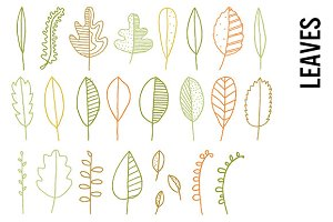 Leaves Clip Art - Transparent PNGs