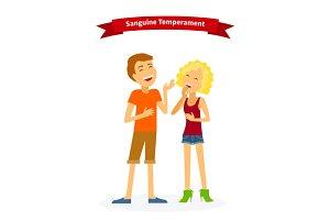 Sanguine Temperament Type People
