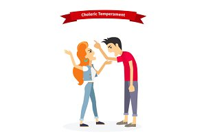Choleric Temperament Type People