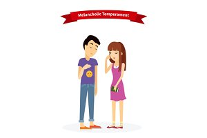 Melancholic Temperament Type People