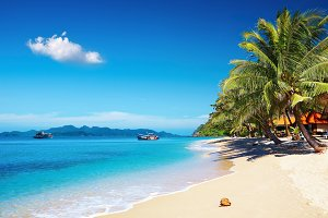 Tropical beach, Thailand