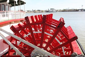 Paddle Wheel Riverboat