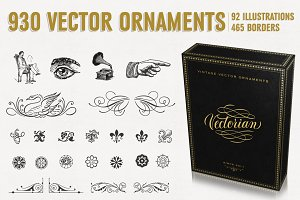 The Monumental Vintage Vector Pack