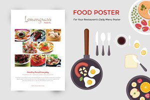 Food Menu Display Poster
